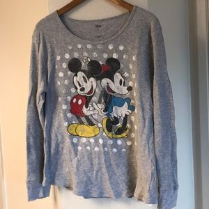 Disney thermo Mickey and Minnie shirt